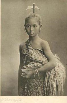 Javanese, 1935. exquisite features