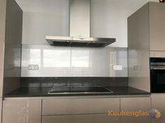 Glaswand Keuken Foto : Metallic glaswand van keukenglas achterwand idee van glas