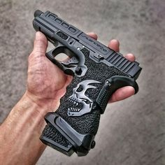 Understand the Glock trigger better and notice how much you progress using your Glock pistol! Understanding the Glock Trigger Glock Weapons Guns, Guns And Ammo, Custom Guns, Custom Glock, Military Guns, Cool Guns, Fantasy Weapons, Rifles, Tactical Gear
