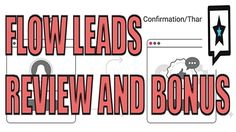 Flow Leads Review, Demo, and Bonus by Precious Ngwu 2017 Mail Marketing, Marketing Tools, Internet Marketing, Flow, App, Website, Youtube, Online Marketing, Apps