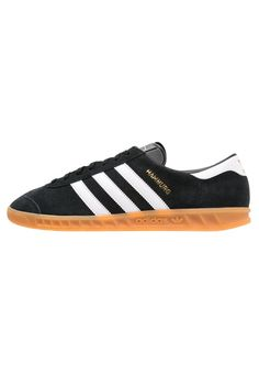 adidas Originals HAMBURG Sneaker low core black/white Schuhe bei Zalando.de | Obermaterial: Leder und Lederimitat, Innenmaterial: Lederimitat/ Textil, Sohle: Kunststoff, Decksohle: Textil | Schuhe jetzt versandkostenfrei bei Zalando.de bestellen!