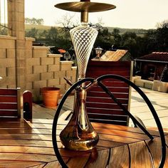 Awesome Hookah with beautiful glass decor