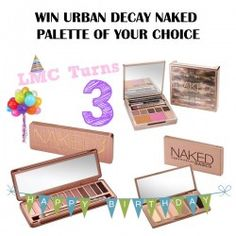 WIN URBAN DECAY NAKED PALETTE OF YOUR CHOICE ^_^ http://www.pintalabios.info/en/fashion-giveaways/view/en/3082 #International #MakeUp #bbloggers #Giweaway