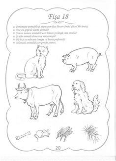 Cunoasterea Mediului - 3-5 Ani Shapes Worksheets, Kids And Parenting, Montessori, Homeschool, Childhood, Clip Art, Education, Learning, Creative