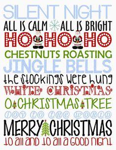 Giggle and Print: Christmas
