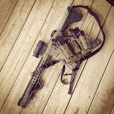 Tactical Assault rifle and gear