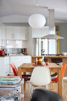 Sunny and colorful kitchen