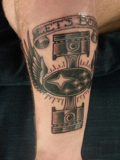 The Best Car Tattoos Of All Time