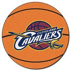 FANMATS NBA Cleveland Cavaliers Nylon Face Basketball Rug Price: $24.94 #arearugs #homedecor