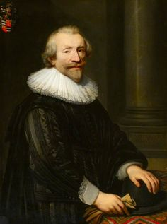 Jan Anthonisz van Ravesteyn, Portrait of an Officer, David de Ruyter (c.1580–1663), 1639 - Pethworth House