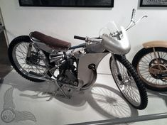 "vintage bike of the day | leif ""basse"" hveem and his 1955 jap speedway racer - bikerMetric"