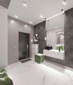 Image could contain: Plant and interior Dorota Kowalczyk - Flur Home Interior Design, House Design, House Interior, House Rooms, Home Room Design, Interior Architecture, Home, Home Entrance Decor, Modern Hallway Design