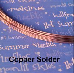 Rame di saldatura filo 18 gauge, rame Colore Match 5 piedi