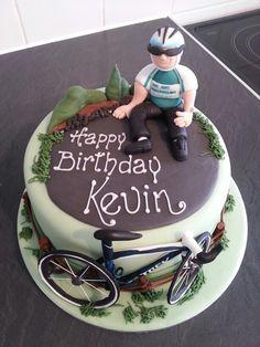 Cyclist cake