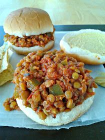Vegan Lentil Sloppy Joes  l  Love.Bake.Read