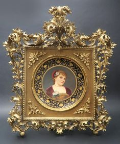 54 Die Kunst An Exceptional Antique Viennese Porcela