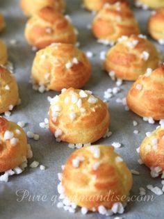 Chouquettes au sucre - www.Puregourmandise.com