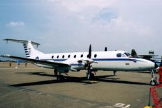 """The ROCAF ordered twelve Beech 1900C in October 1987 to fulfill its administrative transport needs. Deliveries commenced in 1988. Two were subsequently converted for Navaids calibration purposes. They can be easily distinguished from the """"regular"""" Beech 1990 by their red paint above the cheatline."""