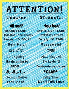 Simple brain breaks to refocus students