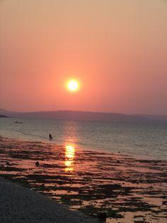 langit senja #sunset #kupang #beach #sun #sky #traveling