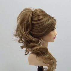 South Indian Wedding Hairstyles For Long Hair Which Highlight Your Thick Tresses Hair Up Styles, Long Hair Wedding Styles, Medium Hair Styles, Natural Hair Styles, Big Wedding Hair, Wedding Braids, Wedding Hairstyles For Long Hair, Up Hairstyles, Beautiful Hairstyles