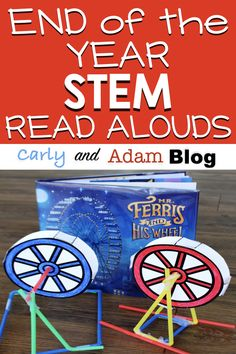 "Four End of the Year Read Alouds and STEM Challenges Your Students will Love: What are you teaching at the end of the year? ""Make"" memories with your students and keep them engaged up until the last day of school with STEM! Turn the end of the year craziness into creativity with STEM challenges! #stemchallenge #endoftheyearactivities"