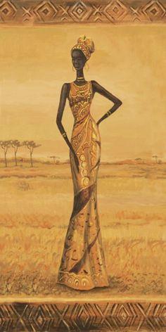 A. S.: Afrikanische Eleganz I