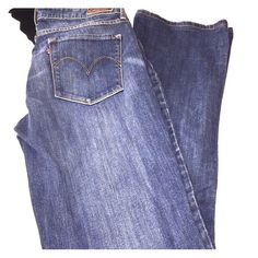 Cute Levi Jeans  Demi Curve skinny boot jeans size 29 super cute and comfy! Levi's Jeans Skinny
