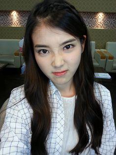 20130614 IU's new selca for Kiss Day! So cute! Cute Korean, Korean Girl, Asian Girl, Iu Twitter, Kiss Day, Love U Forever, K Pop Star, Bokuaka, Korean Beauty