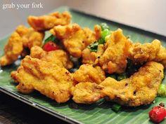 Burmese fried salt and pepper pork chop.