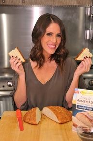 Soleil Moon Frye's finished Fleischmann's Simply Homemade loaf!  So easy/ delish.