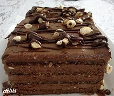 Mamina jela: Širli Templ torta - torta od čokolade i lešnika