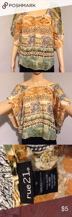 rue 21   Top Pretty print , light weight , perfect for summer Rue 21 Other