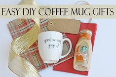 gifts in a coffee mug | we are always searching for fun and creative diy gift ideas and