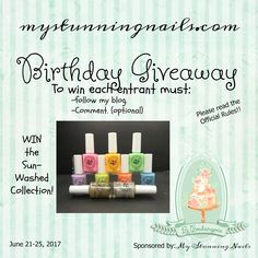 Birthday Giveaway My