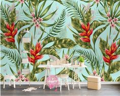 Cheap mural papel de parede, Buy Quality papel de parede directly from China wallpaper nordic Suppliers: beibehang wall paper Customize any size fashion wallpaper Nordic simple tropical plant background wall murals papel de parede Cheap Wallpaper, Custom Wallpaper, Photo Wallpaper, Wallpaper Decor, Plant Background, Forest Background, Pastel Interior, Cleaning Walls, Smooth Walls