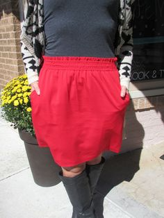 Skirting the Issue - Red