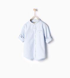 Shirt with roll-up sleeves-SHIRTS-BOY | 4-14 years-KIDS | ZARA United Kingdom