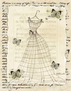 Wire Dress II Prints by Katie Guinn at AllPosters.com
