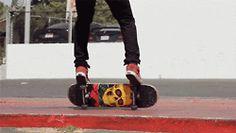 gif skate skateboarding Cool style hipster indie trick boy sk8 nice skateboard skate gif skate style