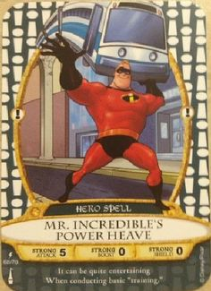 ❤ 68 of 70 Mr. Incredible's Power Heave