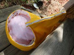 Pet Bed Pet Teepee Guinea Pig Hut  Hedgehog House Pigloo by SewCat