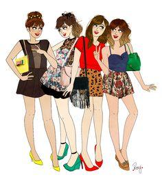 Blog à suivre : RoxyLapassade_copines