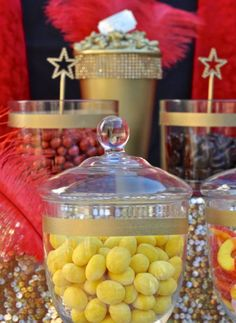 Oscars Party Candy Buffet - Make Life Lovely