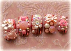 Hey, I found this really awesome Etsy listing at http://www.etsy.com/listing/163165636/kawaii-nail-art-diva-in-pink-deco-fake