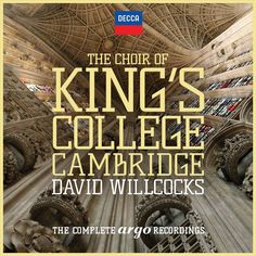 Willcocks & Choir of King's College Cambridge - Choir of King's College Cambridge: Complete Argo (CD)
