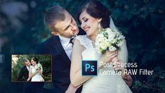 Photoshop Tutorial   Camera raw filter   Adobe Photoshop CC 2017   Weddi...