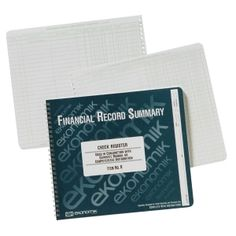 """/""""Monthly Bookkeeping Record with Tan Cover and 128 Pages 11x8-12/""""/"""" Wirebound/"""""""