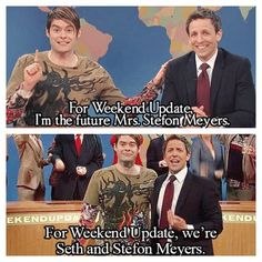 So sad about Bill Hader leaving SNL but this was the perfect weekend update send off.