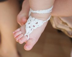 crochet baby sandals - Google Search